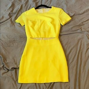 Rubber ducky production yellow dress